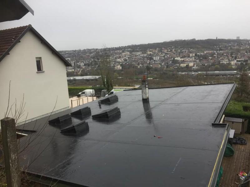 Réalisation toiture toit